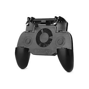 Игровой геймпад триггер Lesko SR2000 беспроводной Shooter Pubg для смартфона