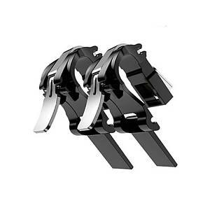 Триггер Lesko S4 Black игровой для игры в PUBG на телефоне джойстик сенсорный пресс-контроллер
