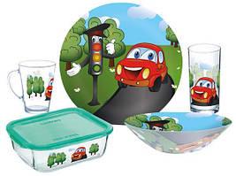 Набір дитячого посуду Luminarc Vroom P7868 5 предметів
