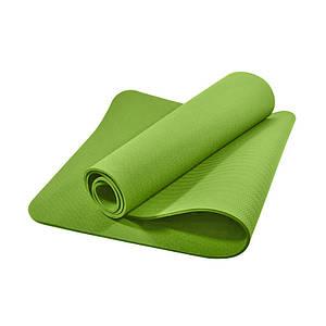 Килимок для фітнесу і йоги TPE Dobetters DBT-YG6 Green 1830*610*60 мм мат для вправ