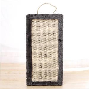 Когтеточка для кота плоская доска Taotaopets 076603 Gray дряпка 40*20*1 см