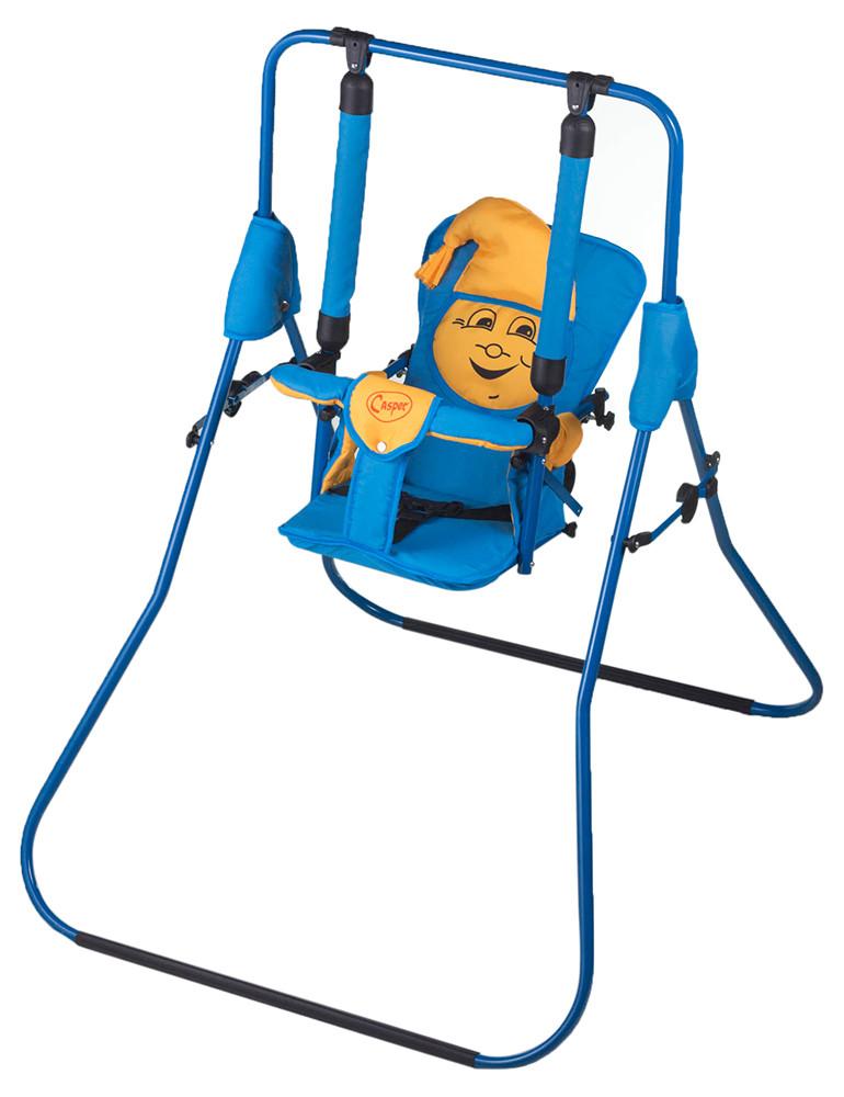 Гойдалка Умка Casper синій-жовтий