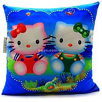 Подушка детская KinderToys Китти2 43х43х10 см (24970-1)