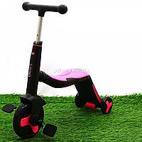 Самокат-трансформер детский Best Scooter 3в1 Розовый (JT 70708)