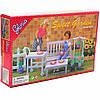 Детская игрушечная мебель Глория Gloria для кукол Барби садовая мебель 9876