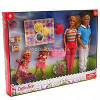 Кукла Defa семейка с аксессуарами №2 8301