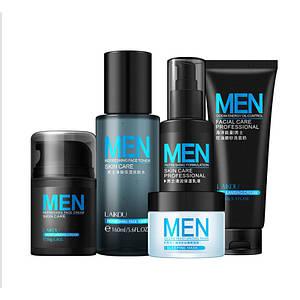 Подарунковий набір чоловічий косметики для догляду Laikou Men Skin Care 3 в 1 зволоження очищення шкіри обличчя