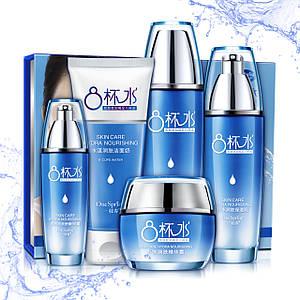 Набір по догляду за обличчям One Spring Skin Care Hydra Nourishing 8 Cups Water захист від зовнішнього середовища Оригінал