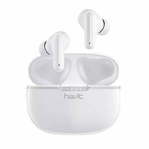 Бездротова Bluetooth 5.0 гарнітура Havit I99 White спортивні навушники