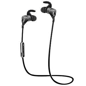 ☞Bluetooth гарнітура Moloke D9 Black бездротова стерео гарнітура з двома навушниками спортивна