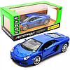 Машинка игровая Автопром Lamborghini avendador LP70-4 roadster Синий со световыми и звуковыми эффектами