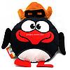 Мягкая игрушка подушка «Смешарики» (Копиця) - Пингвин Пин, 32х32х10 (00280-93)