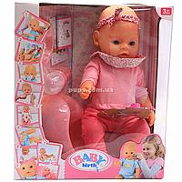 Інтерактивна лялька Baby Born (бебі бон). Пупс аналог з одягом і аксесуарами 10 функцій бебі борн 8006-23, фото 1