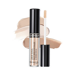 Консилер BIOAQUA Love Soul Silky Skin Concealer 3g Тон №1 Natural Color для осветления контура глаз