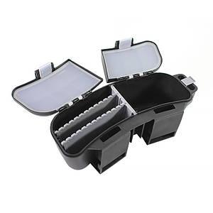 Коробка для рыболовных снастей на пояс LEO 5010 24*8*10 см Black
