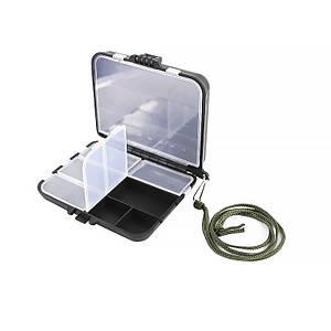 Органайзер для рыболовных снастей LEO 26109 Black 9 отсеков ящик летней рыбалки