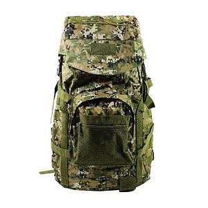 Рюкзак тактичний AOKALI Outdoor A51 Camouflage Green для військових армійський