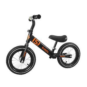 Беговел детский Baishs 058 Black двухколесный велосипед без педалей для малышей