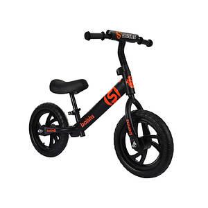 Детский беговел Baishs HS-A313 Black беспедальный велосипед для детей двухколесный