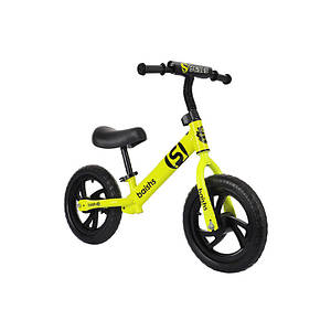 Детский беговел Baishs HS-A313 Yellow беспедальный велосипед для детей двухколесный