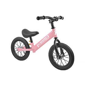 Беговел Panma BT-DZ-07 Pink велобег детский велосипед без педалей