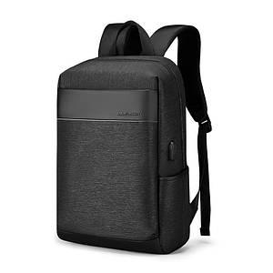 Чоловічий рюкзак Mark Ryden MR-D9306 Black повсякденний діловий для роботи ноутбука