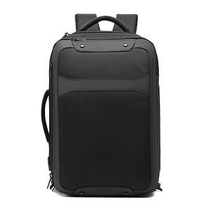 Рюкзак міський Ozuko 9307 Black спортивний для чоловіків на плече
