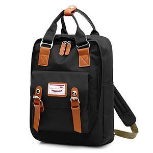 Рюкзак Lesko SM-04 Black шкільний унісекс повсякденний з USB для зарядки