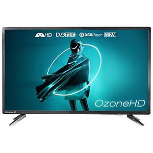 """Телевізор 39"""" OzoneHD HN82T2 роздільна здатність 1366x768 px DVB-C, DVB-T2 роз'єми HDMI/USB вбудований медіаплеєр"""