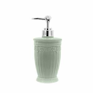 Дозатор для жидкого мыла Lesko А312-01 Круглый Зеленый диспенсер