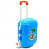 Детский чемодан для игр Технок, голубой, 25х16х35 см (6108)
