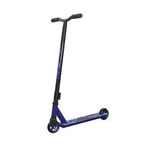 Самокат трюковый Scooter 6061 Синий для трюков детей и подростков