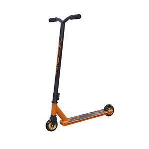 Трюковый самокат Scooter 6061 Оранжевый для трюков детей и подростков