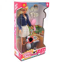 Куклы DEFA с аксессуарами и сенбернаром, лает (8428)