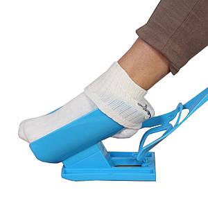 Надевайка Sock Slider приспособление для одевания носков надевание под любой размер ноги