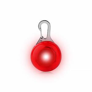 LED подвеска/фонарик Friend HY-0501 Red на ошейник для собак светящаяся мигающая