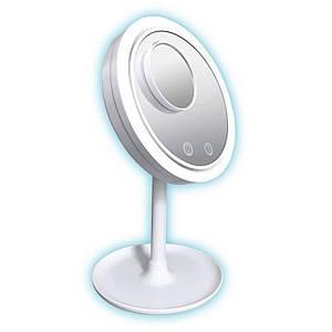 Дзеркало 3 в 1 з підсвічуванням Brise Fraiche Led косметичний для макіяжу з вентилятором світлодіодна Уцінка