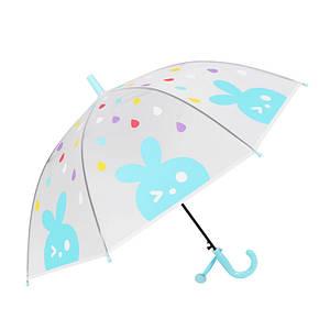 Дитячий парасольку-тростину RST RST088 Кролик Blue механіка вітрозахисний