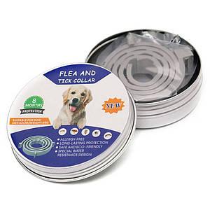 Ошейник противопаразитарный Pet 003 Gray 63cm +Box для собак