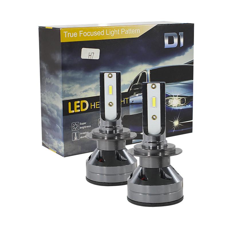 Автомобільні світлодіодні лампи Lesko DXZ A-D1-H7 потужність 60W для автомобіля