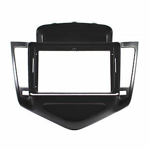 """Переходная рамка Lesko 9"""" Black для автомобилей Chevrolet Cruze 2009-2011г. CH 044N"""
