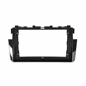 """Переходная рамка Lesko 9"""" Black для автомобиля Honda Civic 2016 HO 085N"""
