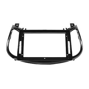"""Перехідна рамка 9"""" Lesko Black для автомобіля Nissan Infiniti ESQ, Juke 2011-2016 NI 070N"""