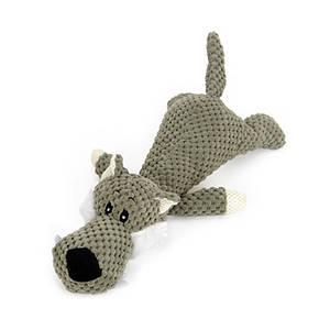 Игрушка Hoopet 17T0093G Волк плюшевая для домашних животных