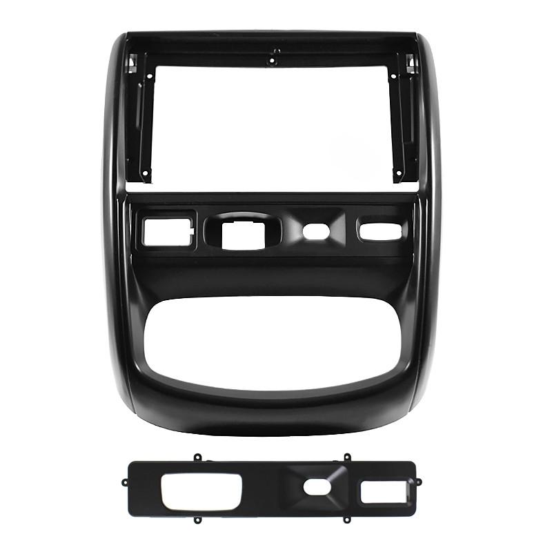 """Перехідна рамка 9"""" Lesko Black для автомобіля RENAULT Duster 2010-2014 F-6696"""