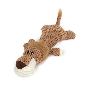 Игрушка Hoopet 17T0093G Лев плюшевая для домашних животных