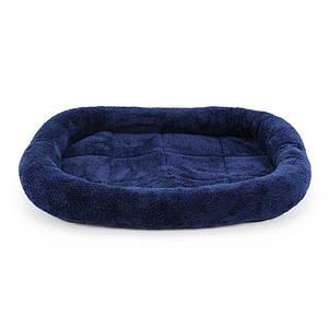 Лежак для домашніх тварин Hoopet HY-1044 Dark Blue S килимок-лежанка котів