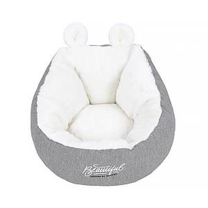 Лежак для домашніх тварин Hoopet HY-1800 розмір M зимовий котячий будиночок
