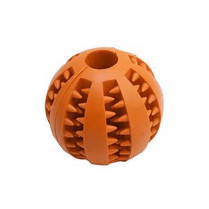Игрушка мяч для собак Pipitao 026631 Orange D:5,0см жевательный резиновый