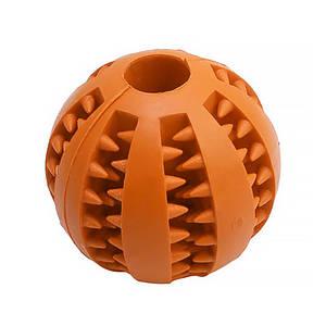 Игрушка мяч для собак Pipitao 026631 Orange D:7,0см жевательный резиновый
